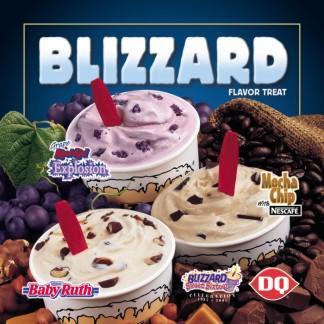Dairy Queen Blizzard Flavors