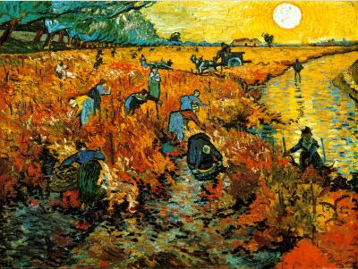 Arles Painting (Red Vineyard at Arles) auctioned at $82.5 million