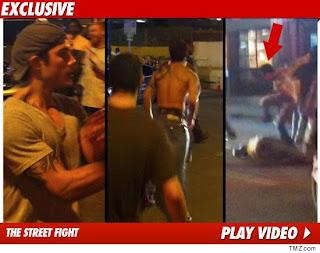 Roger Huerta Street Fight Video
