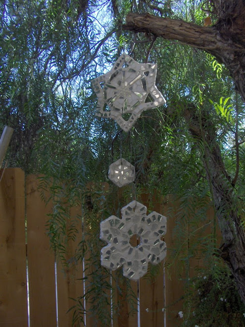 Mosaic Snowflakes!!