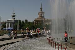 Filharmonian aukio Bishkekissä