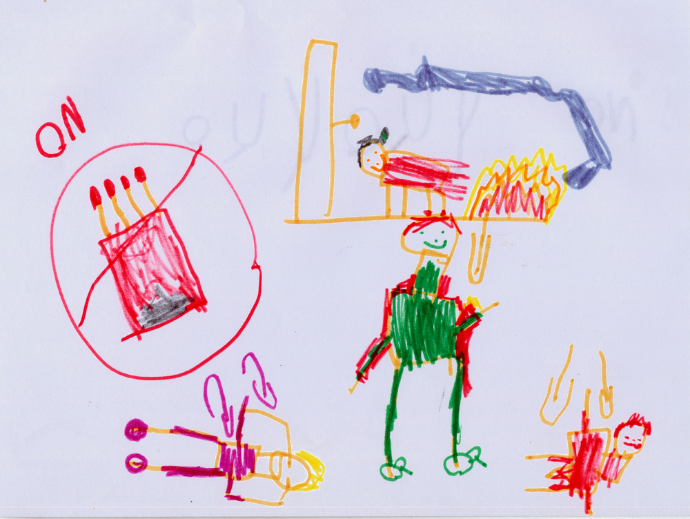 Ozark highlands of missouri fire safety rules from 4 yr old lillie