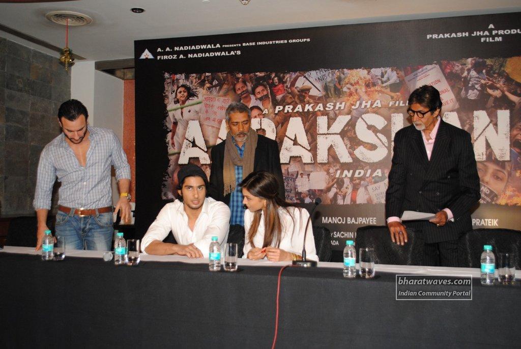 Aarakshan Movie Cast at Aarakshan Movie Launch