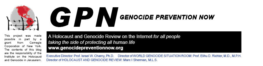 Genocide Prevention Now