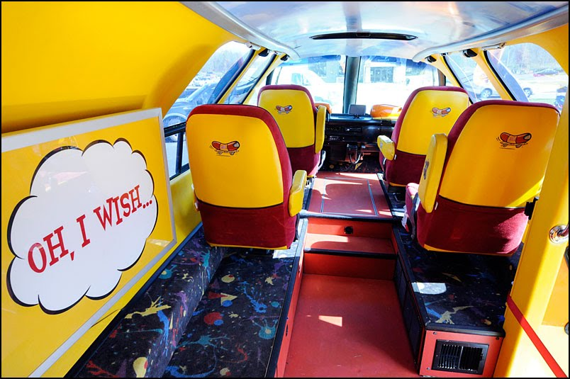see with me the wienermobile visits green bay. Black Bedroom Furniture Sets. Home Design Ideas