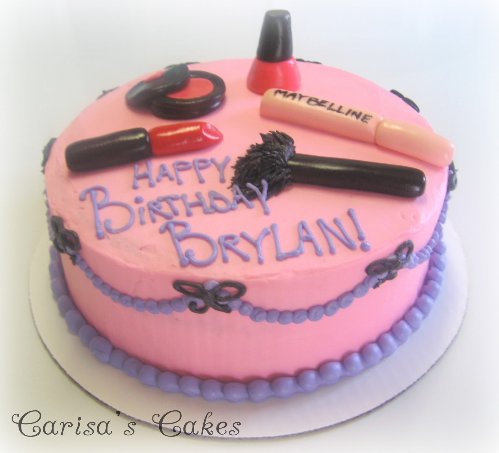 Makeup Cake Pictures : Makeup Birthday Cake Photos - Mugeek Vidalondon
