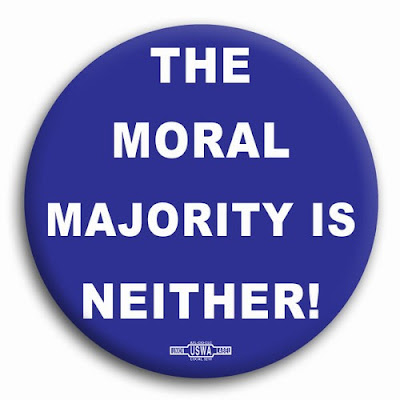 the moral majority A recent report from the pew research center's forum on religion & public life tells us   .