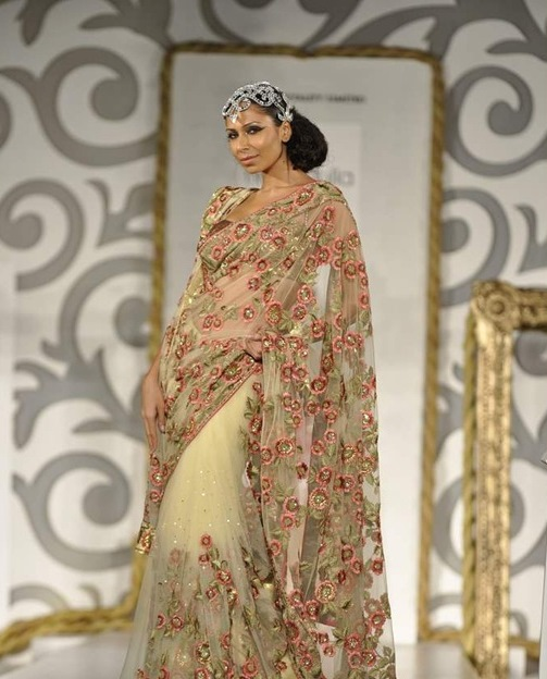 24ladiesshopping saree design by neeta lulla