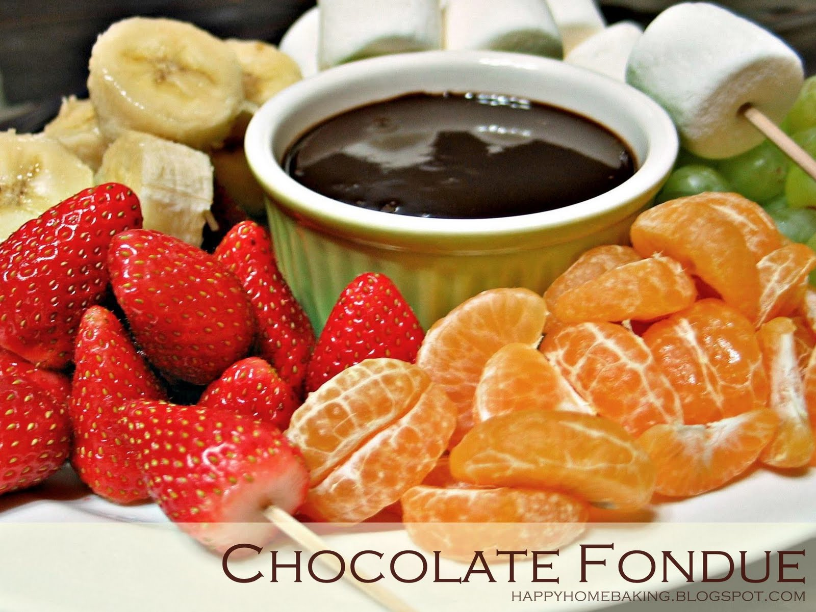 fondue chocolate hazelnut fondue with frangelico chocolate fondue with ...