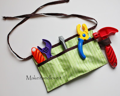 child's tool belt – make it and love it