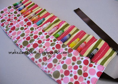 How to Make a Crayon Roll | eHow