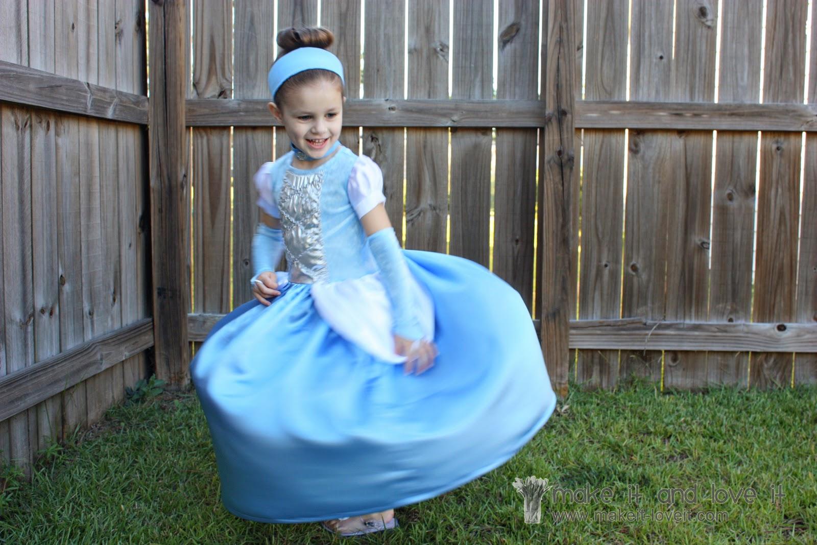 Cinderella Dress Halloween Costume Make It And Love It