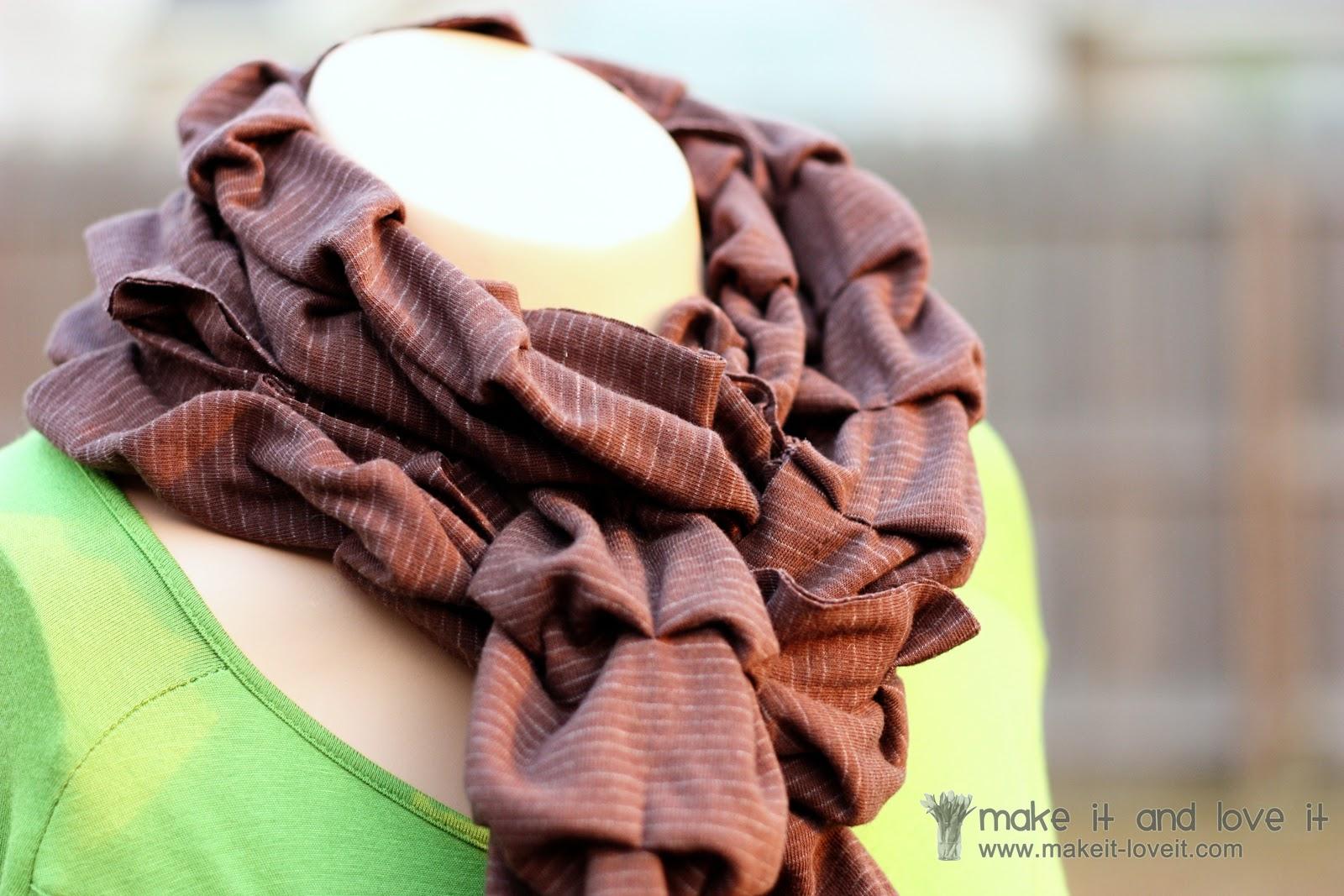 Как сшить шарф 11
