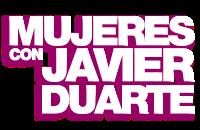 Mujeres con Javier Duarte
