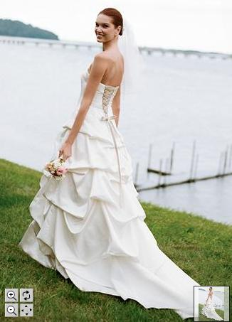 Gallery wedding dress wedding gown david s bridal fall for Davids bridal beach wedding dresses