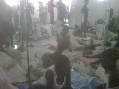 "The ""ward"" when we arrived, patients everywhere, mattreses all over the floor no dresings changed"