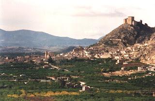 Vista panorámica de Mula, más verde que el resto de Murcia