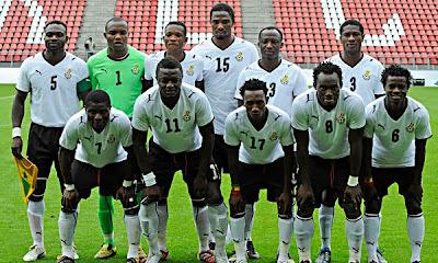 selección de Ghana en sudáfrica 2010