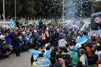 despedida seleccion argentina rumbo a sudafrica 2010 4
