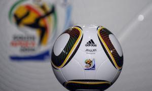 foto de jabulani, la pelota de sudafrica 2010