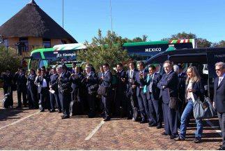 fotos de la llegada de la seleccion de mexico a sudafrica