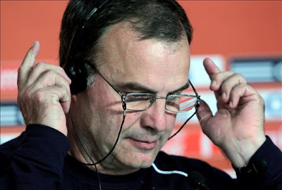 el entrenador de chile en sudafrica 2010, marcelo bielsa