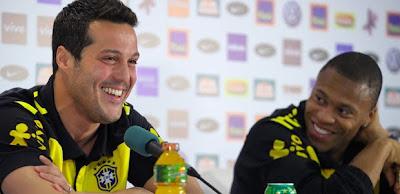 arquero de brasil, julio cesar, dice que le ganarán a argentina