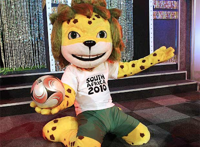 la mascota de sudafrica 2010
