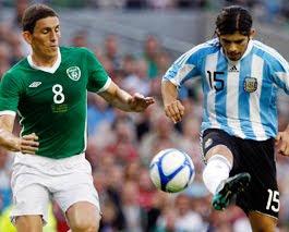seleccion argentina:triunfo ante irlanda