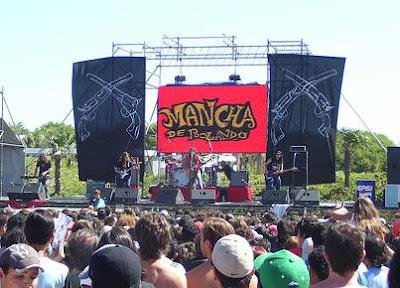 musica rock, playas de Argentina 2011