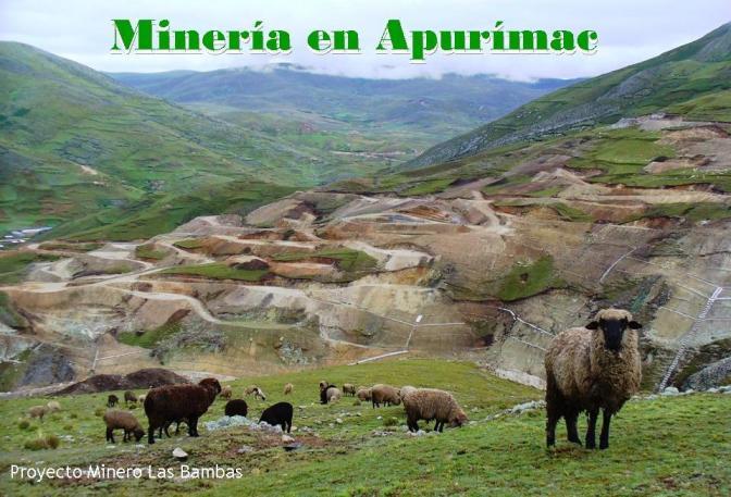 Minería en Apurímac