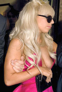 Gaga boobs nude Lady