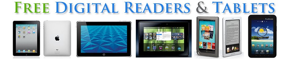 Free Digital Reader & Tablet Giveaways | New iPad Playbook Galaxy Tab Asus Eee Slider