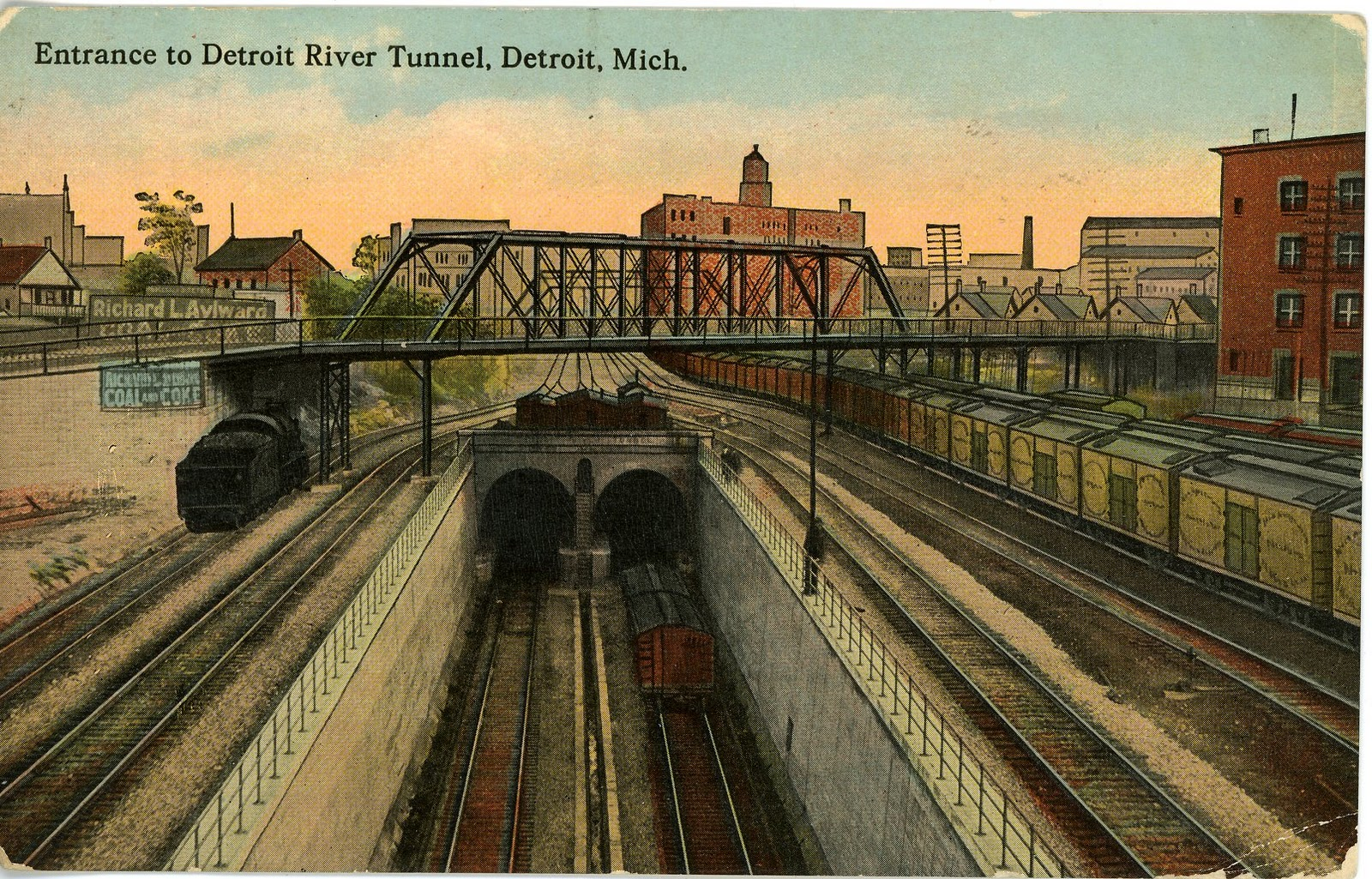 For More Information On The Detroit River Tunnel Click Here