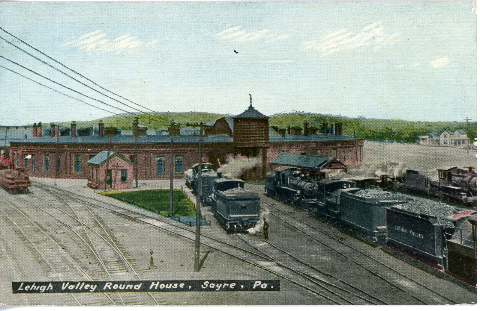 Lehigh Valley Railroad http://railroadpostcards.blogspot.com/2011_01_27_archive.html