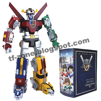TF-ZONE for transformers: TOYNAMI MASTERPIECE VOLTRON