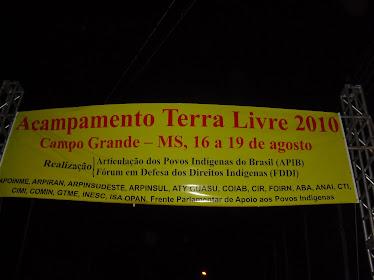 Acampamento Terra Livre - 16 a 19 de agosto de 2010