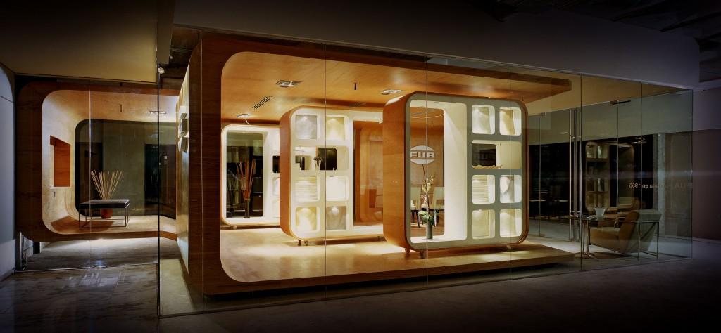 Showroom fua broissinarchitects arquidiaria - Que es un futon ...