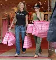 The winner is Paris Hilton, looks at their bags
