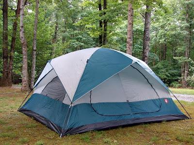 new tent 2008