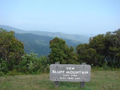 Bluff Mountain, Blue Ridge Parkway