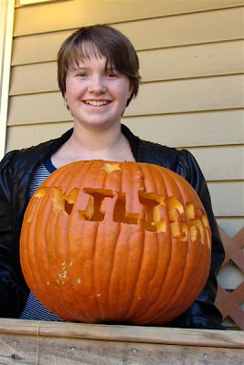 Racheal's pumpkin