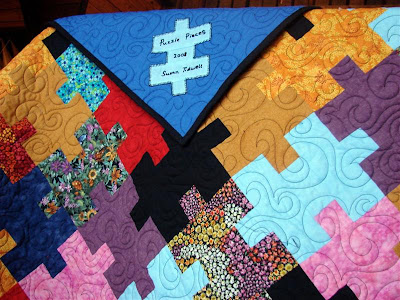 puzzle pieces quilt
