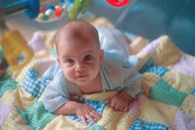 ahhhh cute baby