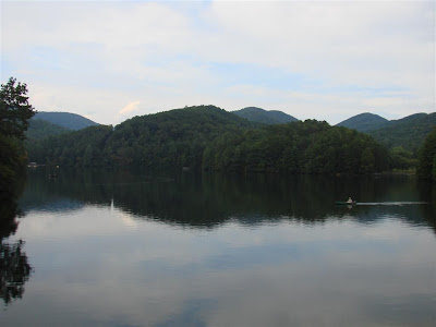 Smith Lake at Unicoi State Park