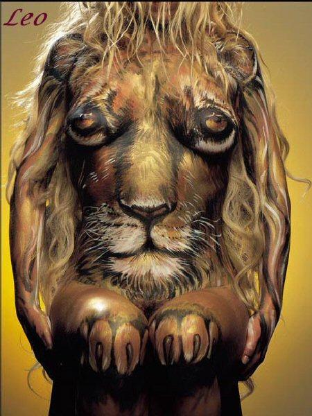 Leo Body Art