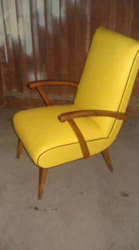 Cositas vintage muebles reciclados sill n escandinavo un for Sillones estilo escandinavo