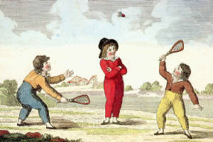 where was badminton originated