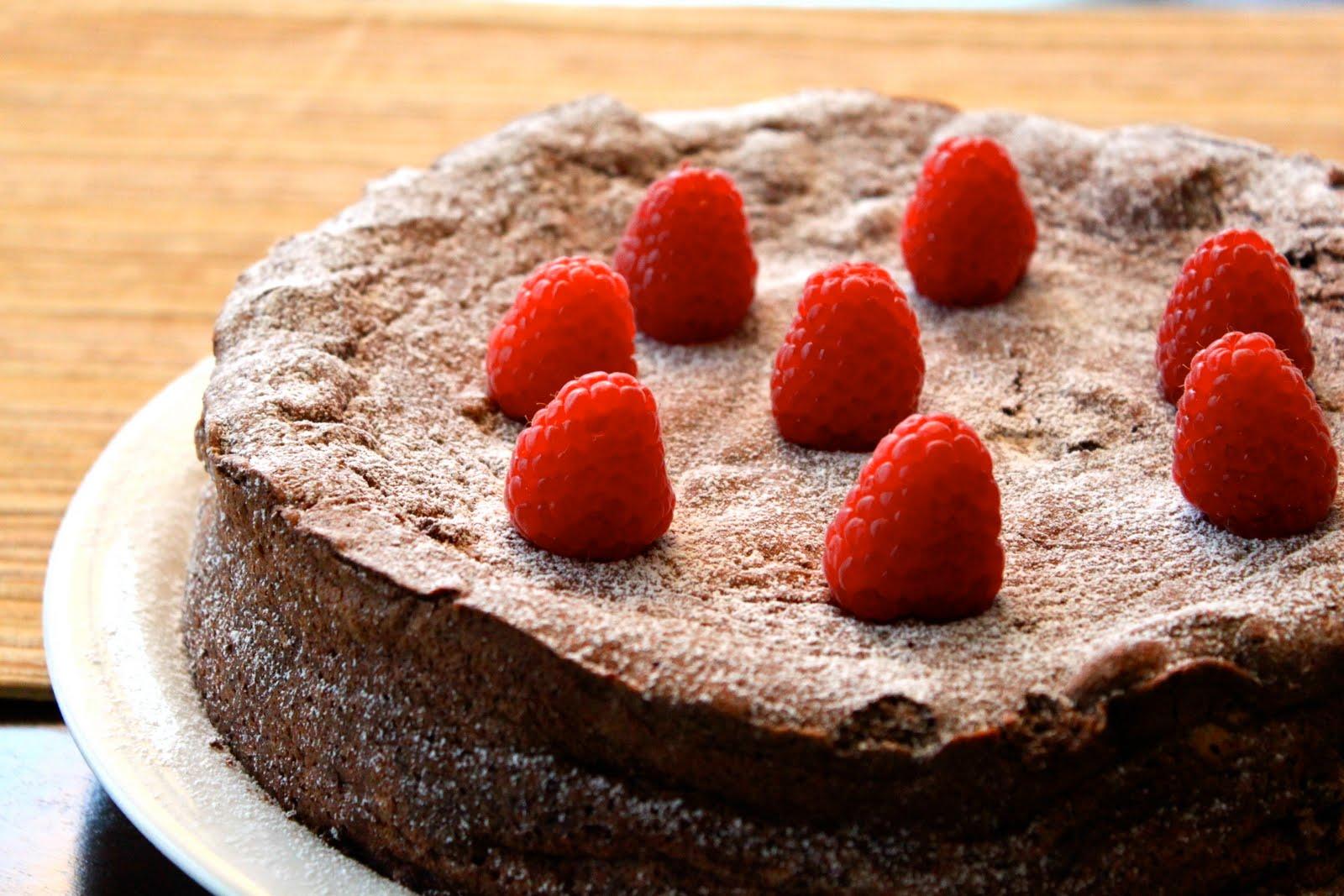 Tyler Florence Flourless Chocolate Cake