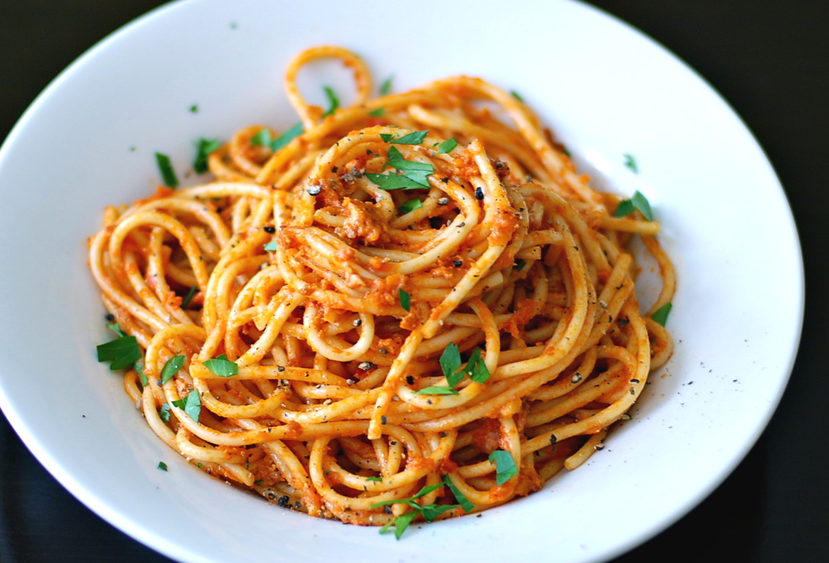 The Enchanted Cook: Spaghetti all'Amatriciana